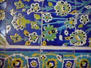 tappeti tabriz carpet udine, vendita lavaggio e restauro tappeti, ceramica blu iran