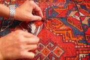 riparazione tappeti udine- restauro tappeto antico