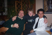 Thomas, Daniel und Niko