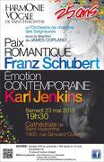 Mai 2015: Paix romantique - Émotion contemporaine