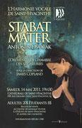 mai 2011: le Stabat Mater de Dvorak