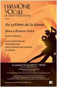 Mai 2017: Au rythme de la danse
