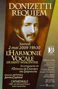 mai 2009: le Requiem de Donizetti