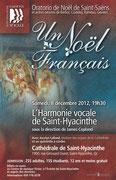 Noël 2012: un Noël français