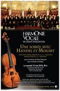 Mai 2018: une soirée avec Haendel et Mozart