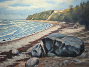Strand von Boltenhagen, 50x60, Acryl auf Malplatte
