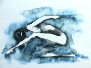 Tänzerin, 30x40, Aquarell auf Papier