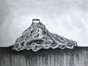 Träge Masse mit Griff, 30x40, Bleistift auf Papier