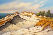 Hohe Düne, 40x60, Acryl auf Leinwandplatte