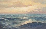 Meeresstimmung, 30x40, Acryl auf Malplatte