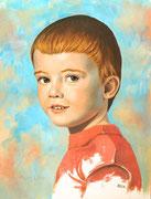 Portraitstudie, 48x36, Öl auf Ölmalpapier