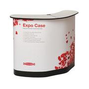 Koffertheke mit Platz für Zubehör EXPO CASE