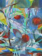 Tauwetter  /  Acryl a. Leinwand, 80 x 60 cm, 2018
