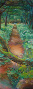 Gemälde auf Tür / Acryl, Auftragsarbeit 2018 (verkauft)