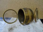 Cylindre décoratif pour le mécanisme de pendule