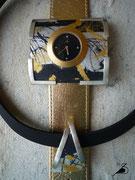 Varissima Uhr mit Schmuckscheibe und Anhänger im Kreuchauff- Design F17