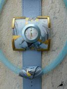 Varissima Uhr mit Schmuckscheibe und Anhänger im Kreuchauff- Design F52