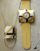 Varissima Uhr mit Schmuckscheibe und Anhänger im Kreuchauff- Design F19