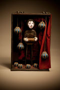 ''  la manière de l'accordéoniste '' Collection privée