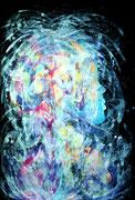 Identity, mixed media on paper, 48 x 62 cm, 2018, Mauricio Paz Viola