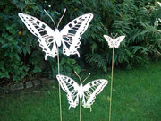 Schmetterling Typ Stahlwelt