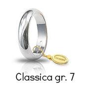 Fede Unoaerre Classica Oro Bianco Grammi 7 Referenza: 70AFN1