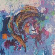Daydream, acrylic on canvas, 100 x 100 cm, 2013