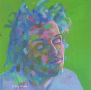 acrylic on canvas, 100 x 100 cm, 2014