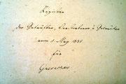 Gnevkow - Geborene, Gestorbene, Getraute ab 01. Mai 1835