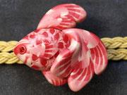 帯留め 金魚1