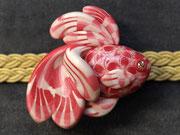 帯留め 金魚4