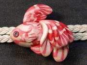 帯留め 金魚3