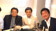 左から安井常任幹事、堂内監督、友澤先輩
