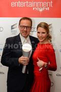 Viola Weiss René Hiepen bei der Entertainment Night 2013   © Fotograf Karsten Lauer