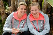Lena Goessling und Tabea Kemme, Algarve Cup 2014