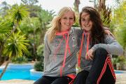 Kathrin Hendrich und Sara Daebritz, Algarve Cup 2014
