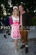 Oktoberfest 2013, Promis Tag 1, Tamara und Norbert Dobeleit
