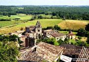 BIRON - Village et église Notre-Dame de Bourg