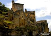 COMMARQUE - Château du XIIè siècle et son castrum