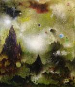 Quinta Essentia II, 155x135 cm, mixed media on canvas, 2020