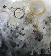 Splendor Solis, mixed media on canvas, 1005x95 cm