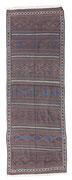 38. Belutsh kilim, Khorasan, Northeastpersien, um 1900, 368 x 126 cm