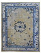 1. Ningxia, West China, 1th quarter 19th century, 348 x 273 cm, vintage look SOLD