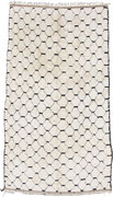 17. Berber rug, High Atlas, Azilal region, circa 1970, 233 x 127 cmSOLD