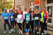 Die Teilnehmer aus dem bayerischen Gebiet vor dem Start. Bild: Karl Reitmeier