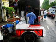 Gemeine Variante - Vorbereitung für die Eisduschen
