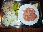 Fertig - Zutaten für Chicken Tom Yum Soup