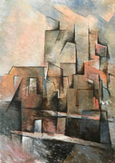 TERRACES - Oil on canvas - 65x46cm - 2017
