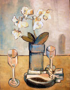 STILL LIFE WITH FLOWERS - Oil on canvas - 50x65 cm. 2013. Private collection in Castelló.