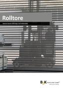 Rolltor Profilauswahl und Technik